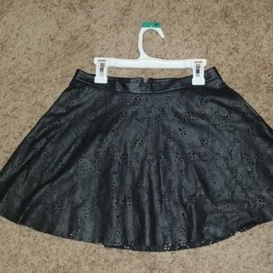 Faux Leather Guess Skirt